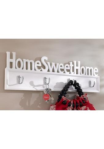 Home affaire Hakenleiste »Home Sweet Home« kaufen