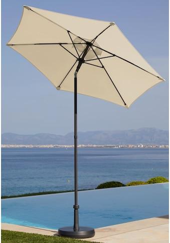GARTEN GUT Sonnenschirm »Push up Schirm Rom«, Ø 200 cm kaufen