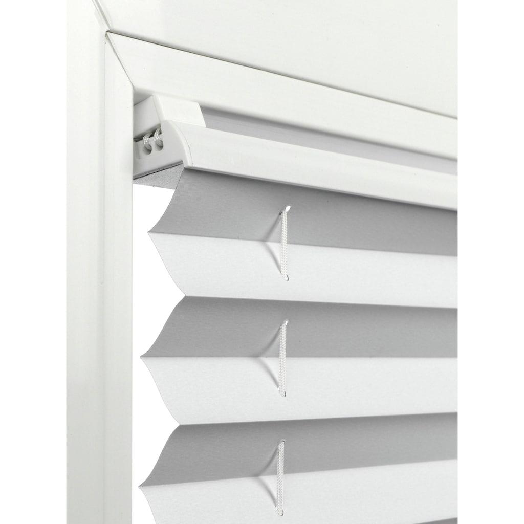 GARDINIA Sichtschutzbefestigungen Zubehör-Set »Träger für Falzmontage«, (4 St.), Serie Easyfix Plissee