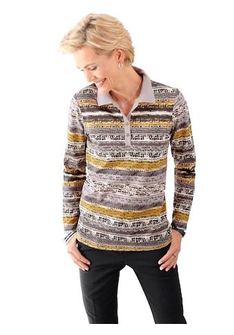 Classic Basics Poloshirt im trendig unregelmässigem Streifendessin kaufen