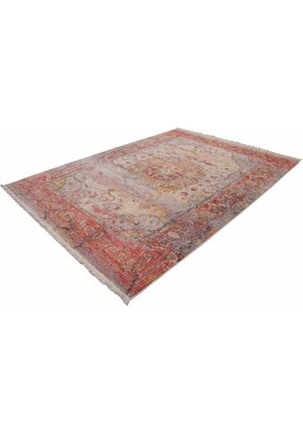LALEE Teppich »Vintage 701«, rechteckig, 7 mm Höhe, Besonders weich durch Microfaser, Wohnzimmer kaufen