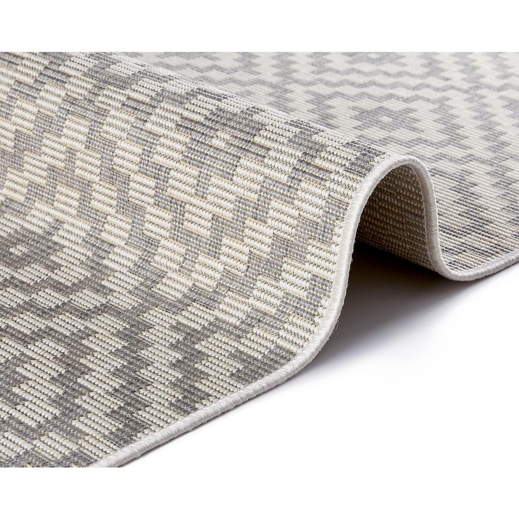 freundin Home Collection Teppich »Breeze«, rechteckig, 8 mm Höhe, In- und Outdoor geeignet, Wohnzimmer