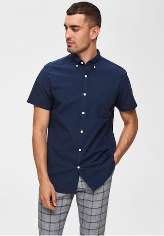 SELECTED HOMME Kurzarmhemd »REG COLLECT SHIRT« kaufen
