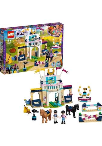 """LEGO® Konstruktionsspielsteine """"Stephanies Reitturnier (41367), LEGO® Friends"""", Kunststoff, (337 - tlg.) kaufen"""