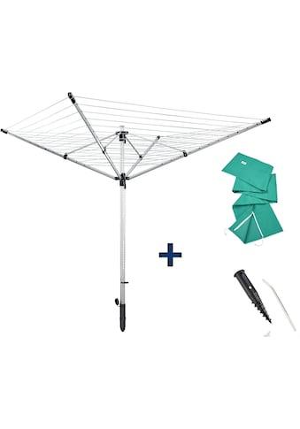 Leifheit Wäschespinne »LinoLift 600 QuickStart«, 60 m Leinenlänge kaufen