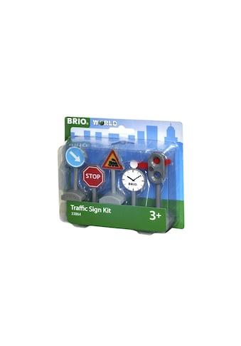 BRIO® Spielzeugeisenbahn-Verkehrszeichen »Verkehrszeichen-Set« kaufen
