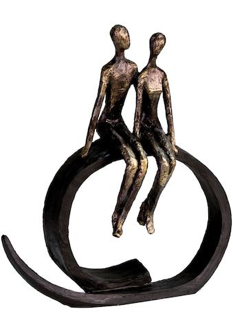 Casablanca by Gilde Dekofigur »Skulptur Close«, Dekoobjekt, Höhe 35 cm, Pärchen, mit... kaufen