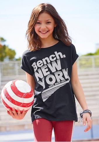 Bench. T-Shirt, leger und etwas länger geschnitten kaufen