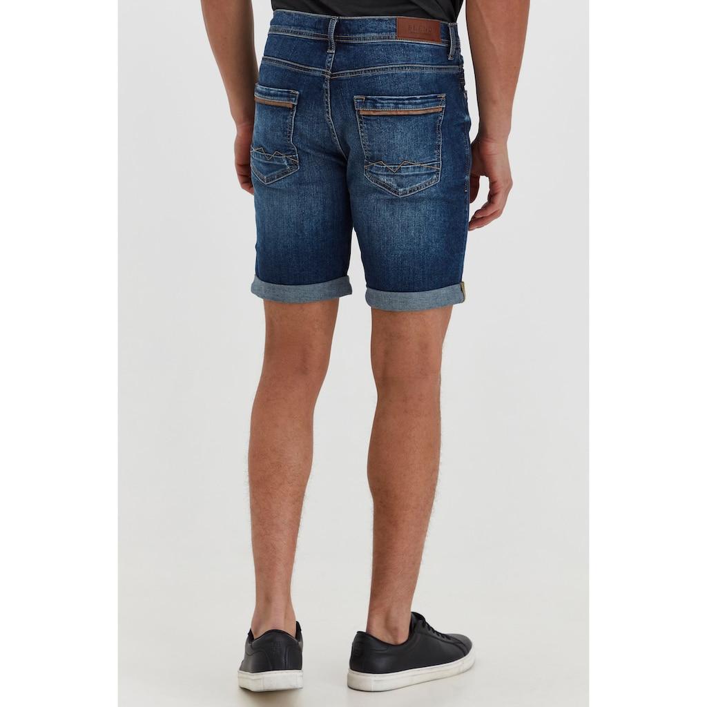 Blend Jeansshorts »Martels«, kurze Hose mit Used Look Effekt
