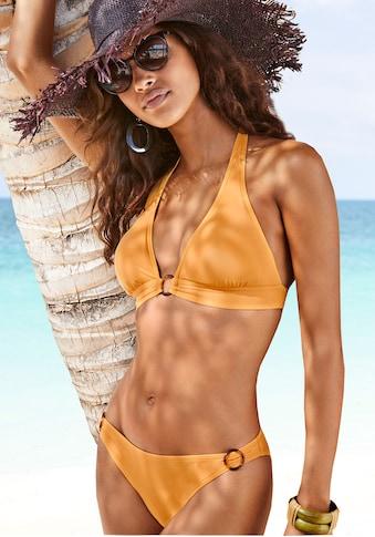 s.Oliver Beachwear Bikini-Hose »Rome«, mit Zierringen kaufen