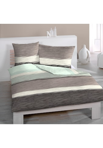Jersey - Bettwäsche, mit feinem Streifenmuster, Home Fashion acheter