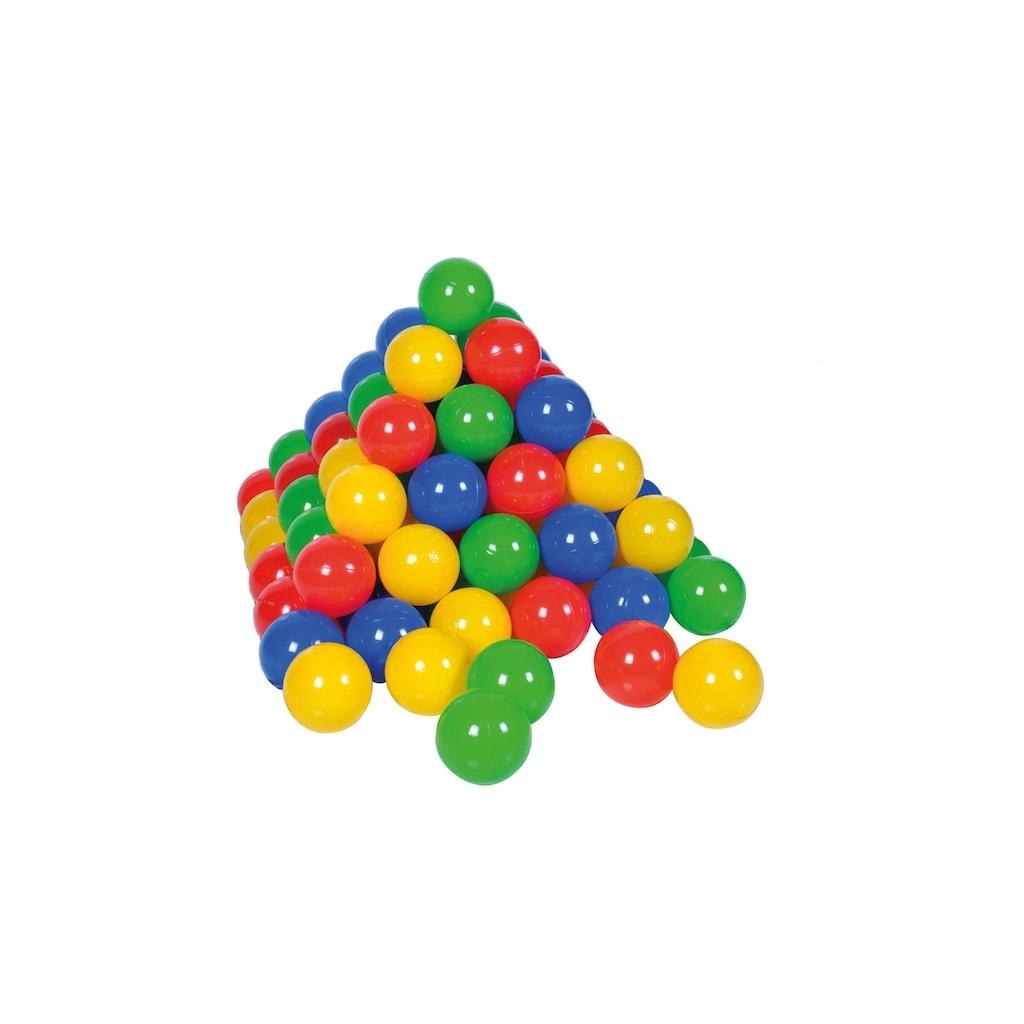 Knorrtoys® Spielball »Bälle Farbig, KNORRTOYS.COM® (100 Stck.)«