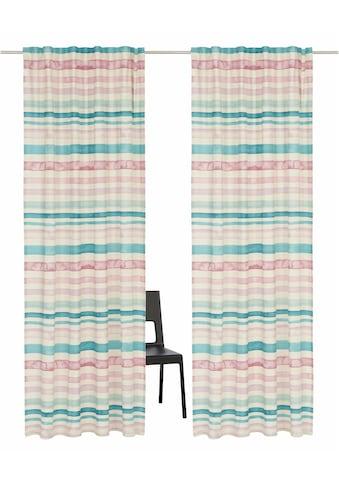 Vorhang, »Garden Stripes«, Guido Maria Kretschmer Home&Living, Multifunktionsband 2 Stück kaufen