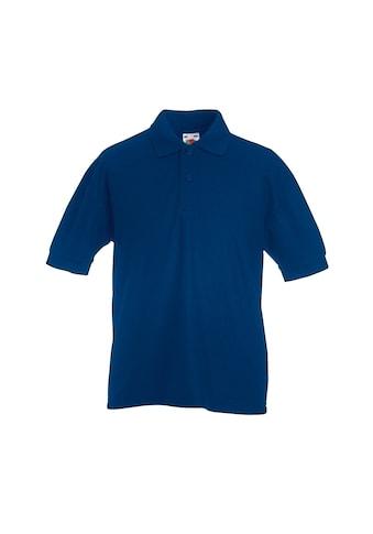 Fruit of the Loom Poloshirt »Kinder Polo Shirt, Kurzarm (2 Stück/Packung)« acheter