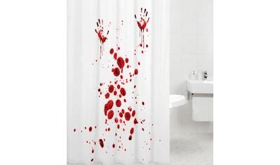 Sanilo Duschvorhang »Blood Hands«, Breite 180 cm, Höhe 200 cm kaufen