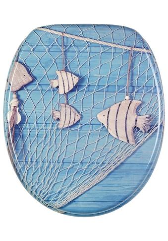 Sanilo WC-Sitz »Seefahrt«, mit Absenkautomatik kaufen