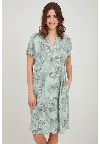 fransa Blusenkleid »Fransa Blusenkleid mit Muster«, lockeres Sommerkleid kaufen