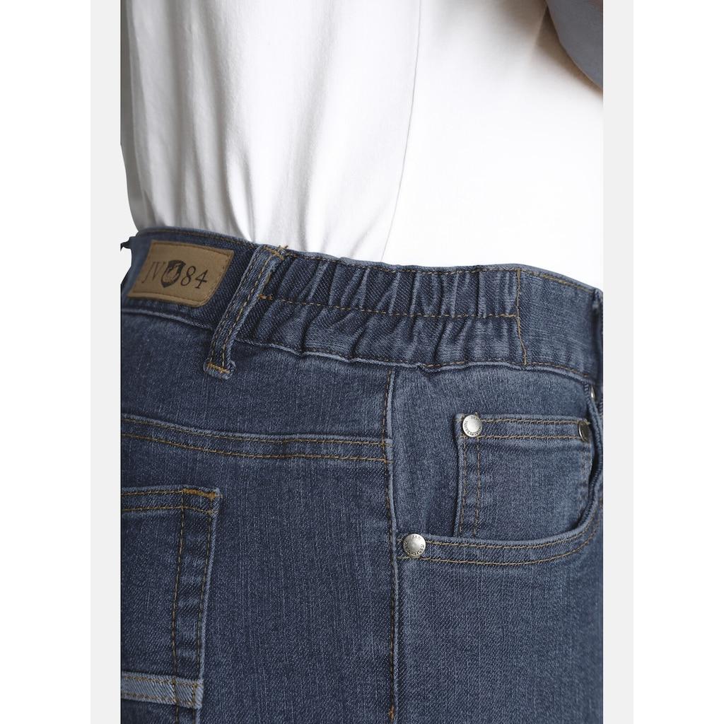 Jan Vanderstorm 5-Pocket-Jeans »HUTO«, mit seitlichem Raffbund
