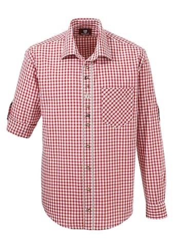 OS-Trachten Trachtenhemd, mit Krempelärmel kaufen