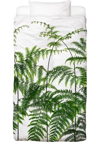 Juniqe Bettwäsche »Flora - Adlerfarn«, In vielen weiteren Designs erhältlich kaufen