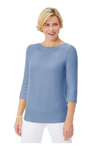 Classic Pullover mit streckenden Ripp - Partien kaufen