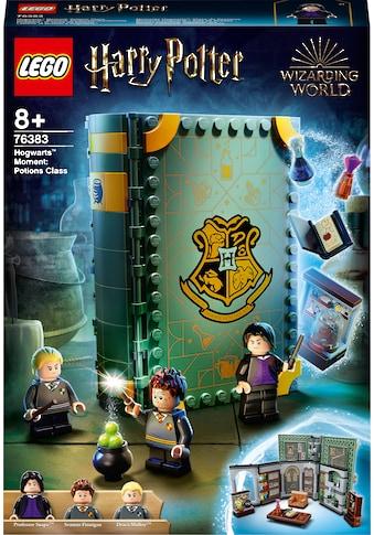 LEGO® Konstruktionsspielsteine »Hogwarts™ Moment: Zaubertrankunterricht (76383), LEGO® Harry Potter™«, (271 St.), Made in Europe kaufen