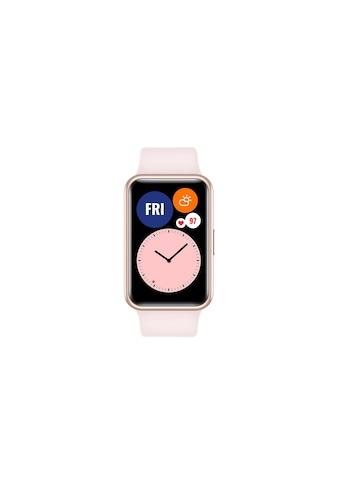 Huawei Smartwatch »Fit Graphite Sakura Pink«, ( ) kaufen