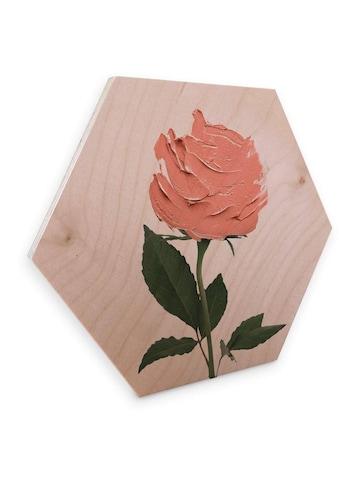 Wall-Art Holzbild »Geometrisches Holzbild Rosen«, (1 St.) kaufen