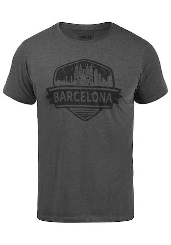 Solid Print-Shirt »Cimo«, T-Shirt kaufen