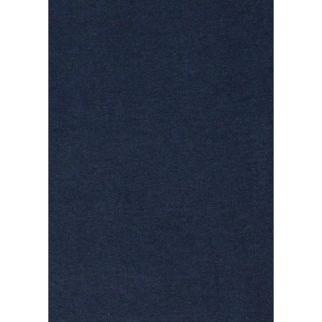 H.I.S Unterziehshirt, mit V-Ausschnitt und kleinem Logo