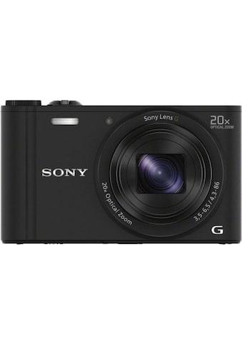 Sony Kompaktkamera »DSC-WX350B Schwarz« kaufen