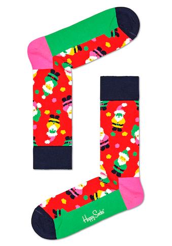 Happy Socks Socken »Santa«, mit weihnachtlichen Motiven kaufen