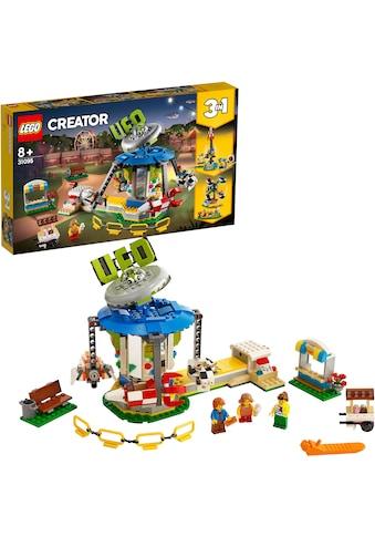 """LEGO® Konstruktionsspielsteine """"Jahrmarktkarussell (31095), LEGO® Creator"""", Kunststoff, (595 - tlg.) acheter"""