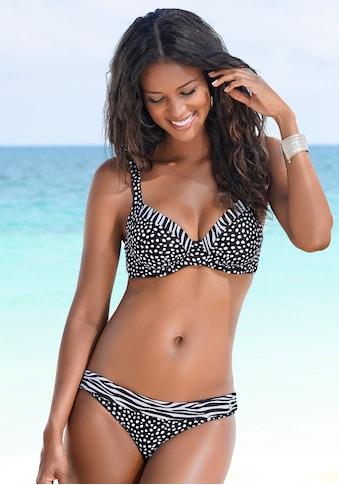 LASCANA Bikini-Hose »Safari«, mit Umschlagbund kaufen