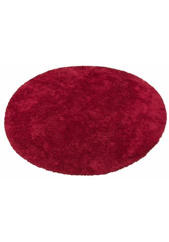 my home Hochflor-Teppich »Desner«, rund, 38 mm Höhe, Besonders weich durch Microfaser, Wohnzimmer kaufen