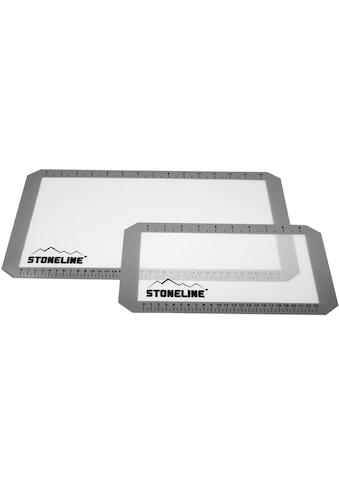 STONELINE Backmatte, (Set, 2 tlg.), Glasfaser mit Silikonbeschichtung kaufen
