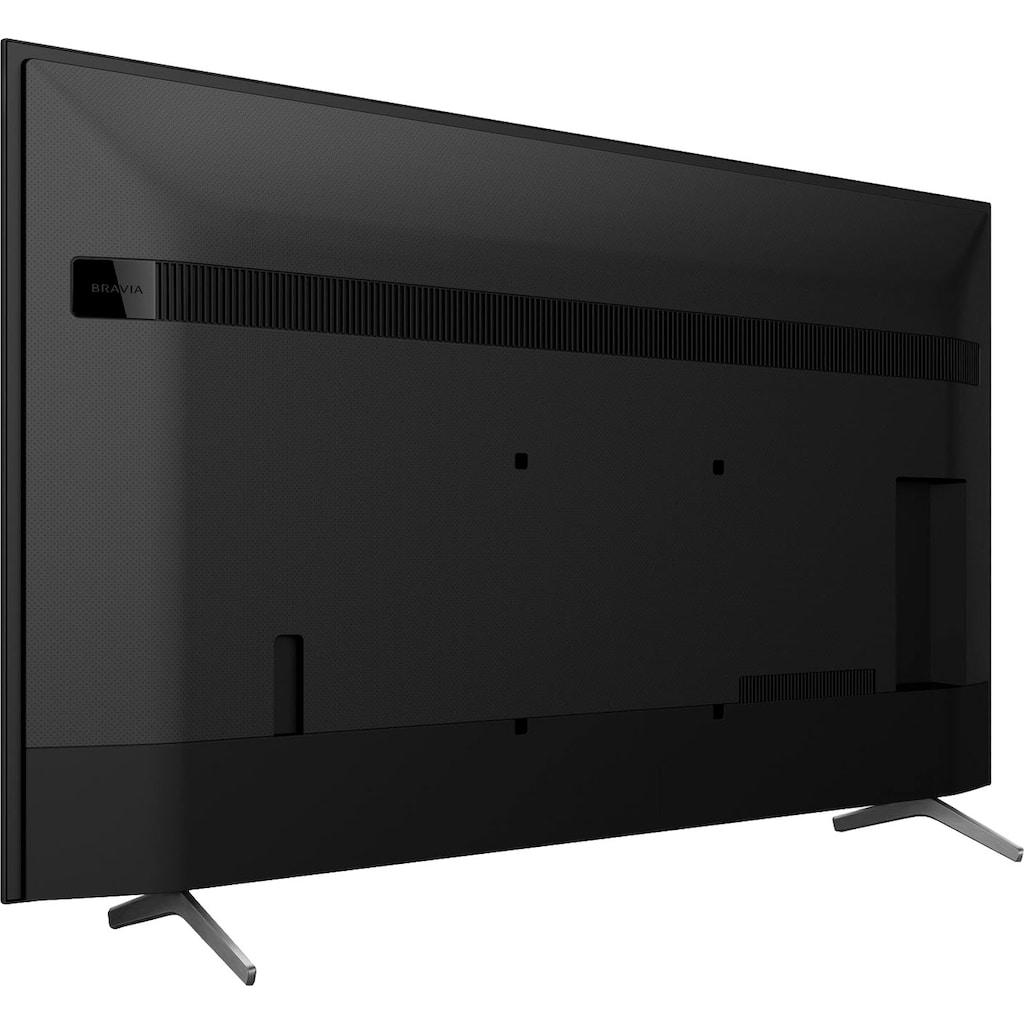 "Sony LCD-LED Fernseher »KD-55X81J«, 139 cm/55 "", 4K Ultra HD, Smart-TV-Android TV-Google TV, High Dynamic Range (HDR), BRAVIA, 2021 Modell"