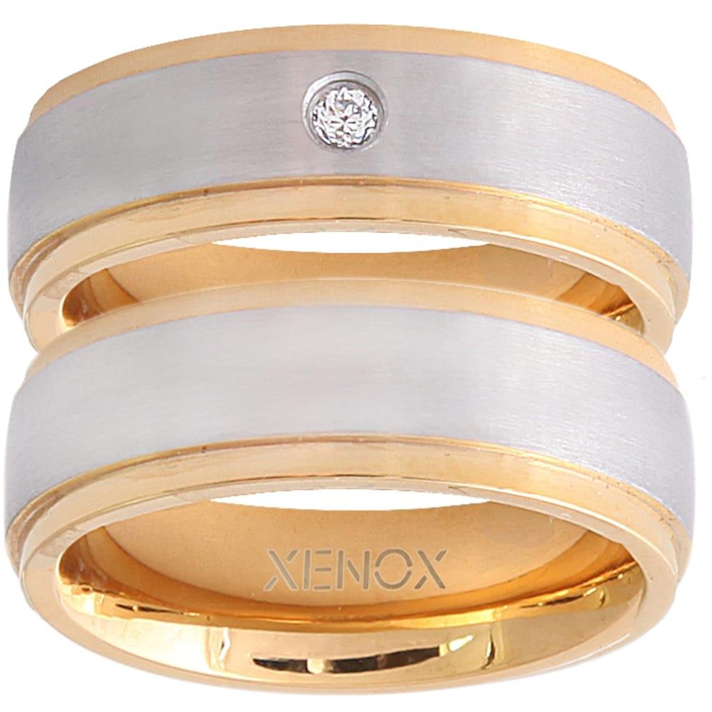 XENOX Partnerring »X2228, X2229«, wahlweise mit oder ohne Zirkonia