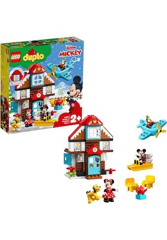 """LEGO® Konstruktionsspielsteine """"Mickys Ferienhaus"""", Kunststoff, (57 - tlg.) kaufen"""