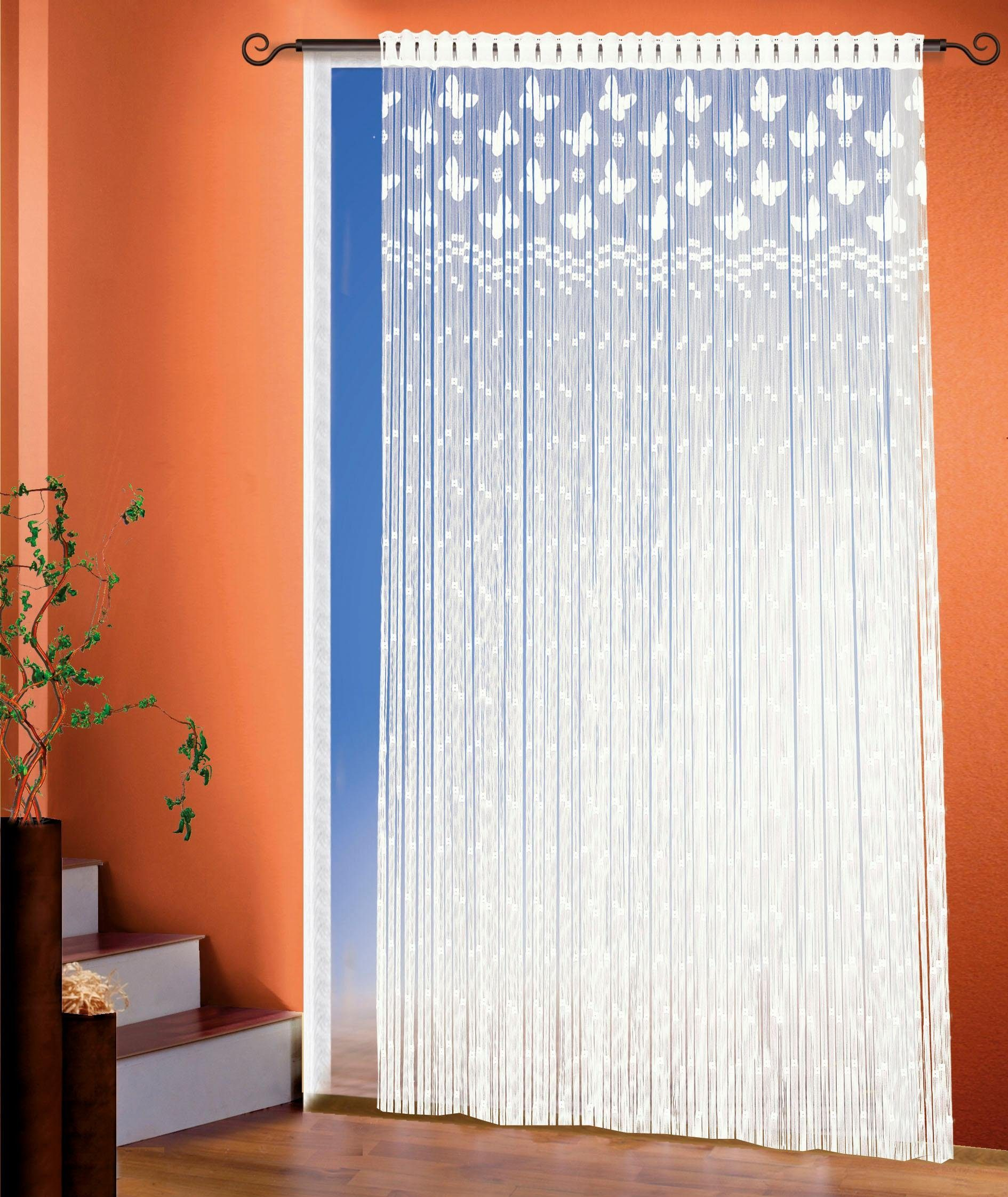 Image of Fadenvorhang, »Neuss«, WILLKOMMEN ZUHAUSE by ALBANI GROUP, Stangendurchzug 1 Stück