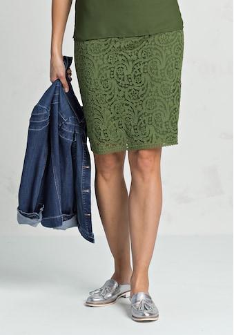 bianca Bleistiftrock »IRIS«, aus edler Spitze in stylischer Trendfarbe kaufen