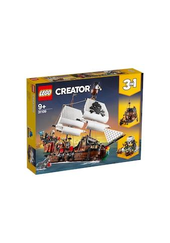 LEGO® Spielbausteine »Creator Piratenschiff« kaufen