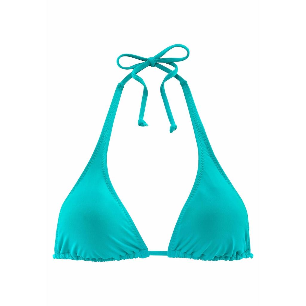 Buffalo Triangel-Bikini-Top »Happy«, im schlichten Design