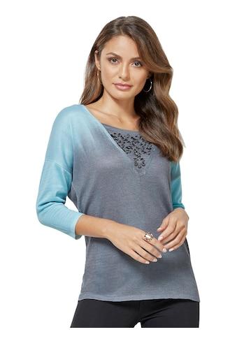 Creation L Pullover mit trendigem Farbverlauf kaufen
