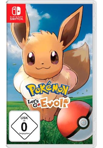 Nintendo Switch Spiel »Pokémon: Let's Go, Evoli!«, Nintendo Switch kaufen