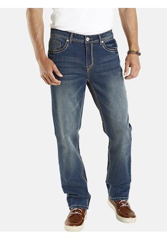 Jan Vanderstorm 5-Pocket-Jeans »JANI«, zweifarbige Steppnähte kaufen