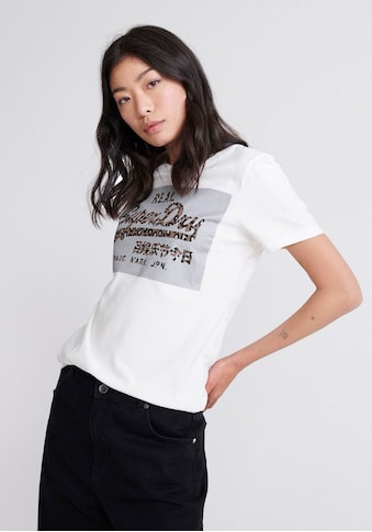 Superdry T - Shirt »VL REFLECTIVE BOX ENTRY TEE« kaufen