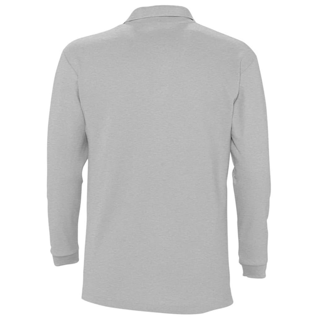 SOLS Poloshirt »Herren Winter II Pique Langarm-Shirt / Polo-Shirt, Langarm«