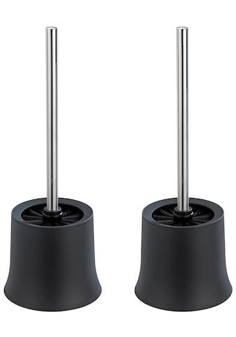 WENKO WC-Garnitur »Basic Schwarz«, schwarz kaufen