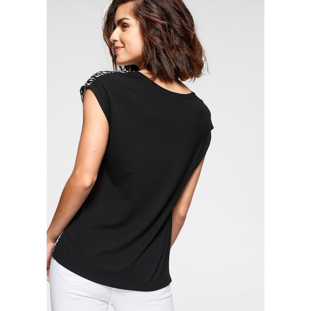Tamaris Shirtbluse, mit trendigem Print